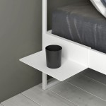 Minimalistisch bed Project sidetable-White-d