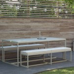 Mimnimalist-diningtable-Poul-benches-2